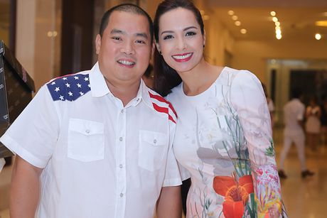 Sao Viet no nuc tham du tiec sinh nhat cua Mr Dam - Anh 6