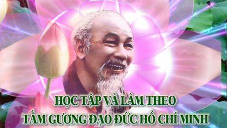 Dua vao day tai lieu Bac Ho va nhung bai hoc ve dao duc, loi song danh cho HS - Anh 1
