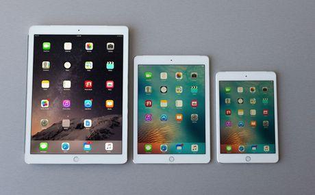 Apple se tung ra ba mau iPad Pro moi vao dau nam 2017 - Anh 1