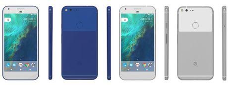 Google Pixel va Pixel XL co gia khoang 600$, co mau xanh - Anh 2