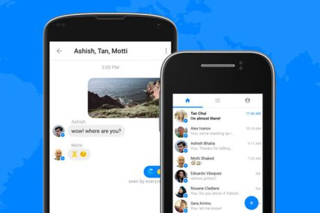 Facebook tung Messenger Lite cho nguoi dung toc do thap - Anh 1