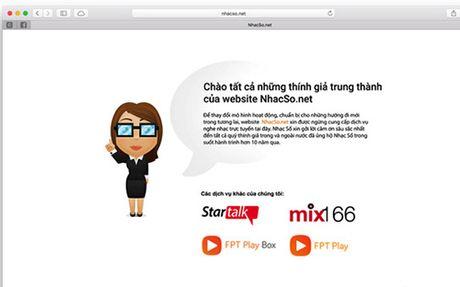 NhacSo.net chinh thuc dong cua sau 11 nam hoat dong - Anh 1