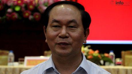 Chu tich nuoc: Cong nhan det may dang 'ket' trong cuoc canh tranh toan cau - Anh 1