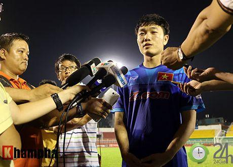 Chia tay nguoi dep Hoa Minzy, Cong Phuong lan dau tho lo - Anh 2