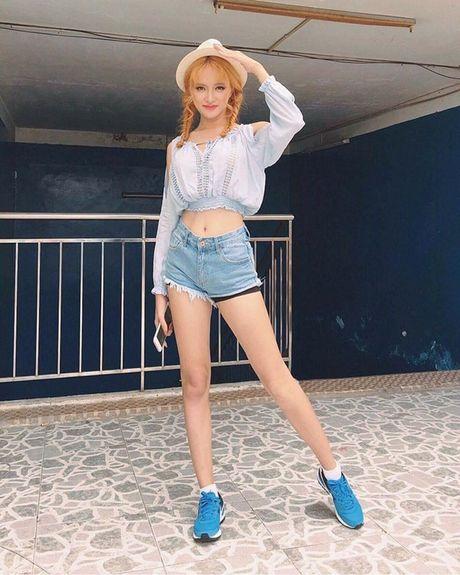 Huong Giang Idol phat hoang vi than hinh gay go - Anh 7