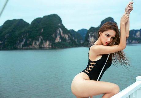 Huong Giang Idol phat hoang vi than hinh gay go - Anh 9