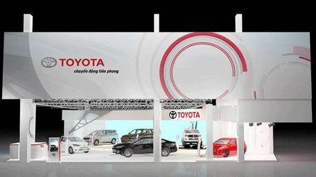 Toyota Viet Nam mang 6 mau xe toi trien lam o to Viet Nam - Anh 1