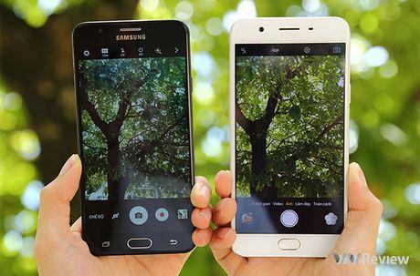 Do chi tiet Galaxy J7 Prime va Oppo F1s: ke tam lang nguoi nua can - Anh 15