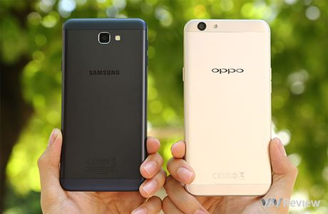 Do chi tiet Galaxy J7 Prime va Oppo F1s: ke tam lang nguoi nua can - Anh 3