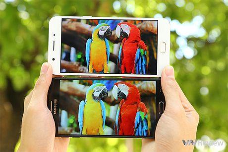Do chi tiet Galaxy J7 Prime va Oppo F1s: ke tam lang nguoi nua can - Anh 9
