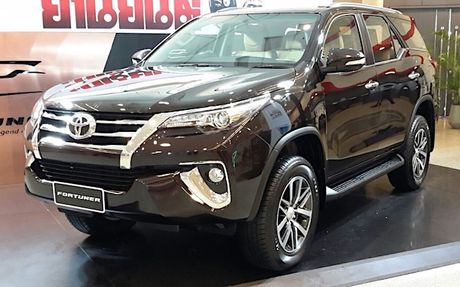 Toyota Fortuner moi se co mat tai Trien lam oto Viet Nam 2016 - Anh 2