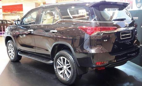 Toyota Fortuner moi se co mat tai Trien lam oto Viet Nam 2016 - Anh 4