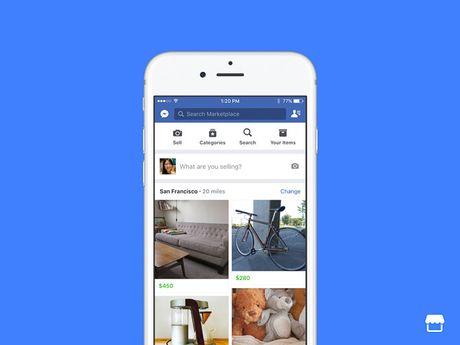 Facebook gioi thieu cho mua ban truc tuyen Marketplace - Anh 1