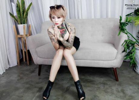 ''Hot girl xam tro'' Dao Chile dan than vao showbiz bang MV day but pha - Anh 4