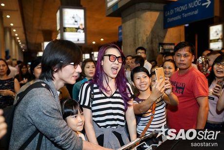My Tam hon ho ve nuoc, hanh phuc trong vong tay fan sau chuyen luu dien tai My - Anh 12