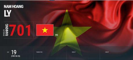 Ly Hoang Nam 'xep hang' len Top 700 the gioi - Anh 2