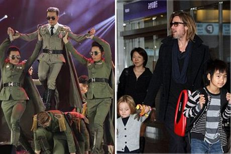 Dam Vinh Hung bi che trach trong liveshow 12 ty; Brad Pitt khoc loc voi bo me vi bi vo bo - Anh 1