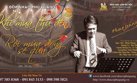 Phu Quang to chuc hai liveshow - Anh 1