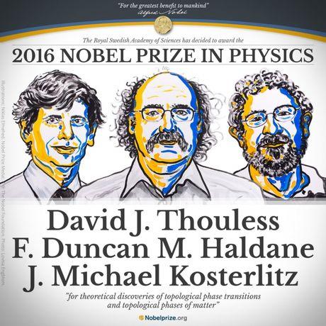 Ba nha khoa hoc Anh nhan Nobel Vat ly 2016 - Anh 1