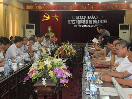 Vu Thu Thai Binh: Ngay 10/10 mo Le hoi chua Keo mua Thu 2016 - Anh 1
