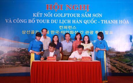 Ket noi Golftour Sam Son va Cong bo tour du lich Thanh Hoa voi du khach Han Quoc - Anh 1