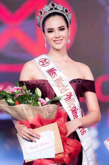 Ngam ve dep nong bong cua tan Hoa hau The gioi Philippines 2016 - Anh 1