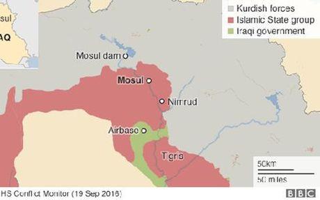 He lo ke hoach gianh lai Mosul tu tay IS - Anh 2