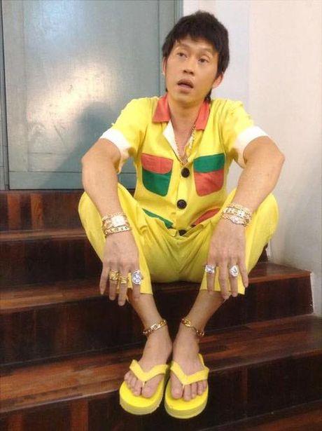 Ly do Hoai Linh, Viet Huong 'khoe vang' khap nguoi - Anh 4