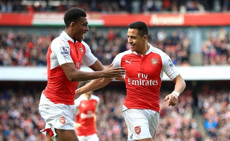 Sao tre Arsenal choang voi Sanchez - Anh 1