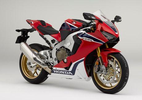 Honda CBR1000RR 2017 - 'Bua tiec cong nghe' 2 banh - Anh 1