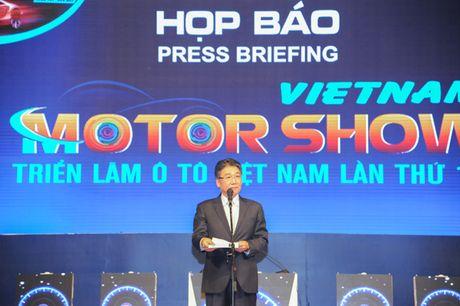 Ha Noi: Khai mac Vietnam Motor Show 2016 - Anh 1