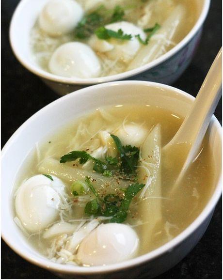 Sup cua mang tay – mon khai vi cuc chat cho bua tiec tai nha - Anh 5