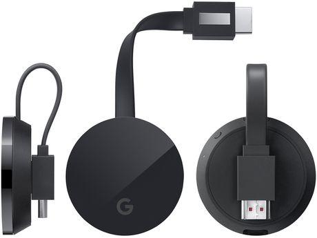 Chromecast Ultra: ho tro 4K, co cong Ethernet tren adapter nguon, gia 69$ - Anh 1
