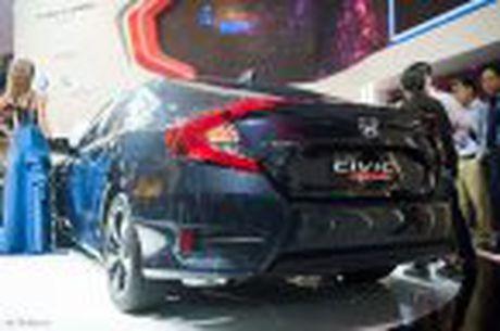 Honda Civic moi chinh thuc ra mat thi truong Viet Nam, thang 1/2017 ban, gia chua cong bo - Anh 30