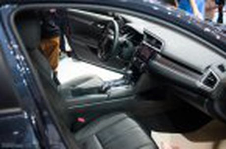 Honda Civic moi chinh thuc ra mat thi truong Viet Nam, thang 1/2017 ban, gia chua cong bo - Anh 46