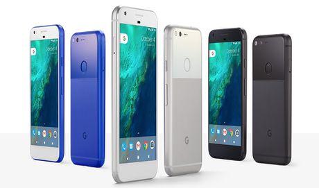 So cau hinh cua Google Pixel va Pixel XL - Anh 1