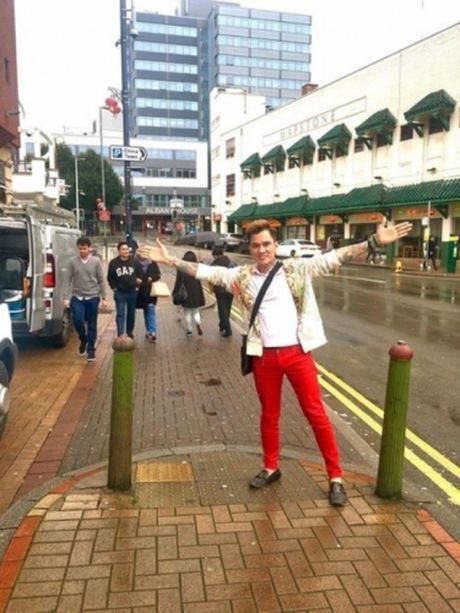 Lam Chan Huy manh tay sam do cho MV moi - Anh 5