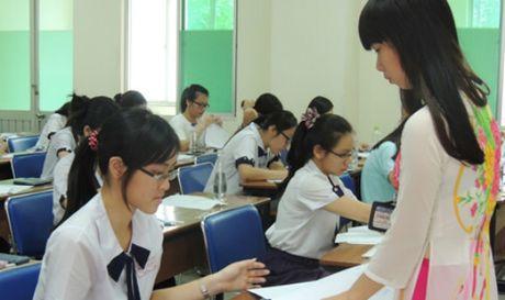 Khong dong y cho TP HCM thi tot nghiep THPT rieng - Anh 1