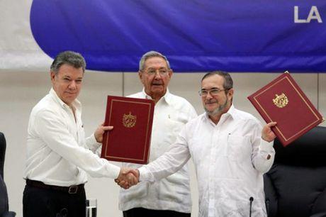 Thoa thuan ngung ban giua chinh phu Colombia va FARC het hieu luc vao 31/10 - Anh 1