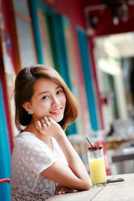 MC Quynh Chi khong bao gio muon cham mat 'tinh cu' cua ban trai - Anh 2