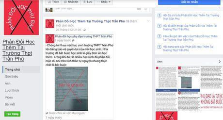 Dak Lak: Hoc sinh lap Facebook phan doi hoc them - Anh 1