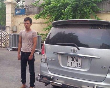 Trom o to o Tuyen Quang mang xuong Ha Noi tieu thu - Anh 1