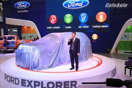 Ford Explorer 2017 ra mat khach hang Viet, gia tu 2,18 ty dong - Anh 1