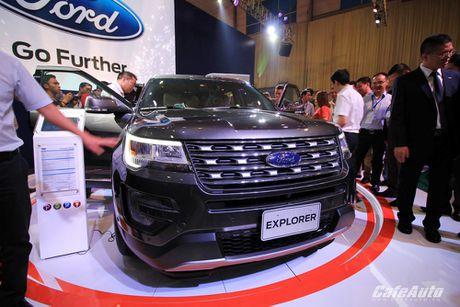 Ford Explorer 2017 ra mat khach hang Viet, gia tu 2,18 ty dong - Anh 4