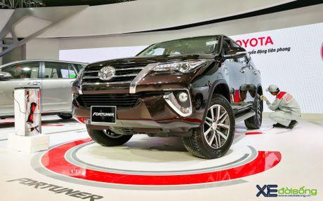 Chi tiet Toyota Fortuner moi chinh hang dau tien tai Viet Nam - Anh 2