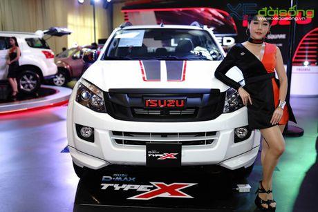 Isuzu ra mat mu-X Limited va D-Max Type X tai Viet Nam - Anh 4