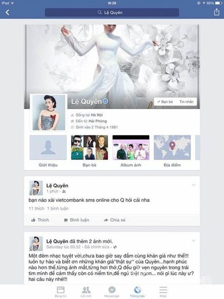 Facebook hoa hau Pham Huong bi hack - Anh 3