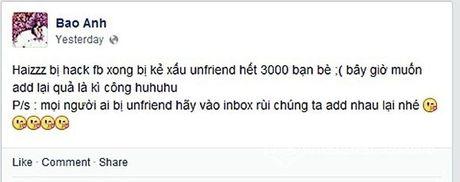 Facebook hoa hau Pham Huong bi hack - Anh 4