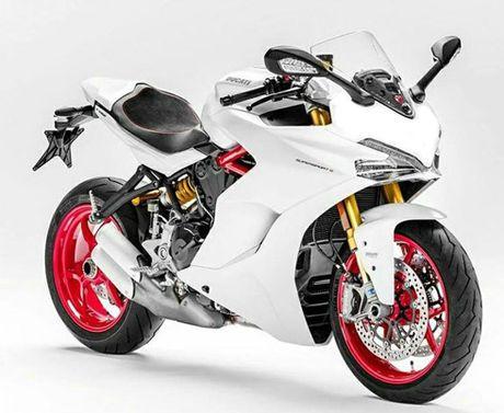 Moto the thao Ducati SuperSport 939 lan dau lo dien - Anh 1