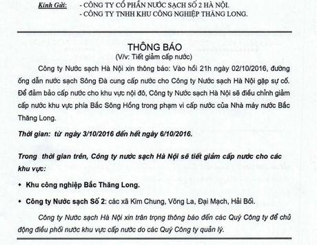 Duong ong Song Da gap su co lan thu 20 - Anh 1